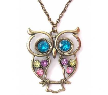 Photos Vivastreet Collier fantaisie hibou