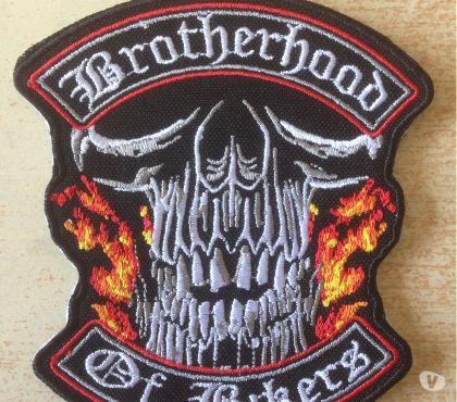 Photos Vivastreet Ecusson brodé biker skull brotherhood of bikers