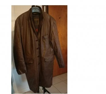 Photos Vivastreet Manteau cuir marron 100 % bufle