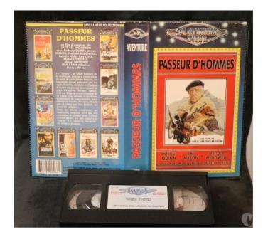 Photos Vivastreet K7 VHS secam film Passeur d'hommes 90 mn n&blc