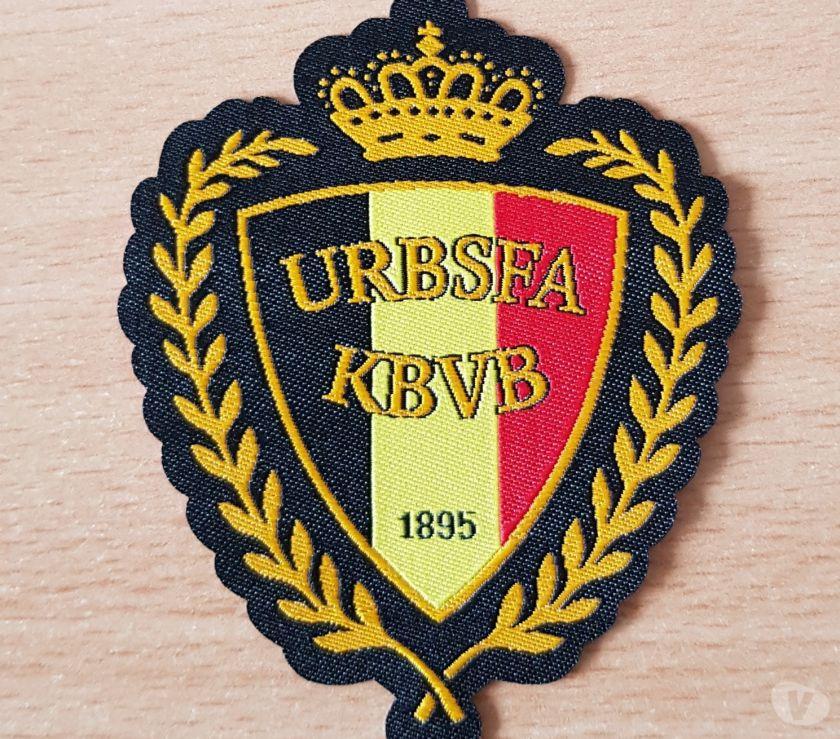Photos Vivastreet ecusson tissu fédération royale belge de football urbsfa