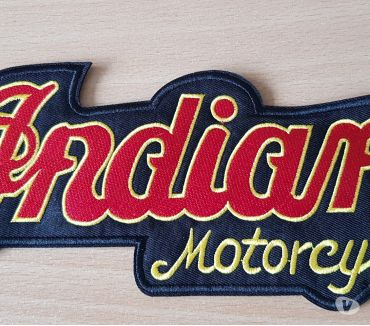 Photos Vivastreet ecusson brodé indian motorcycle taille L 23x9 cm
