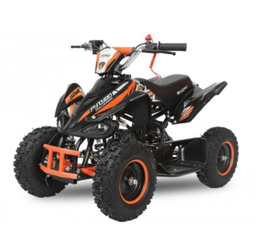 Photos Vivastreet Quad enfant 49cc Carbone telecommande + bridage