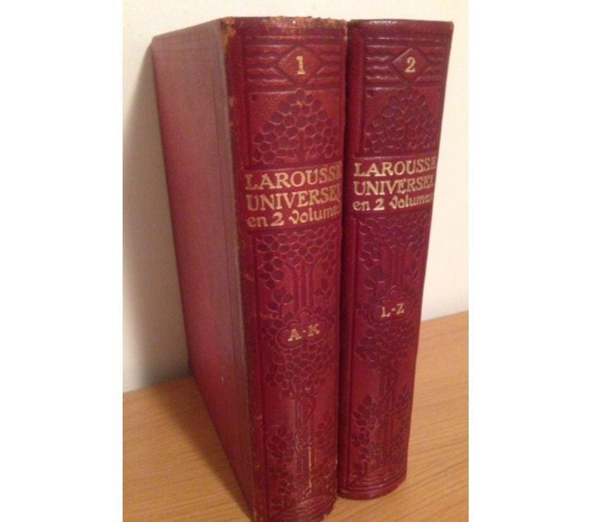 Livres occasion Seine-et-Marne Meaux - 77100 - Photos Vivastreet LAROUSSE UNIVERSEL EN 2 VOLUMES 19221923