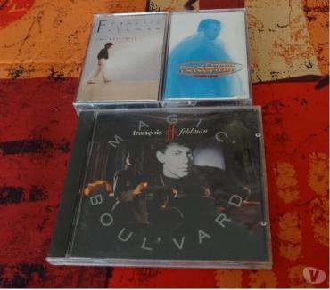 Photos Vivastreet 3 CD et 2 cassettes -audio de Francois Feldman