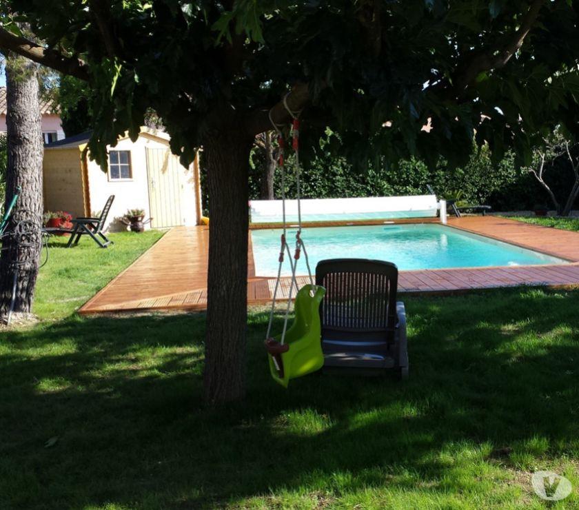 location saisonniere Vaucluse Taillades - 84300 - Photos Vivastreet LUBERON: Belle villa avec piscine, jardin clos libre en sept