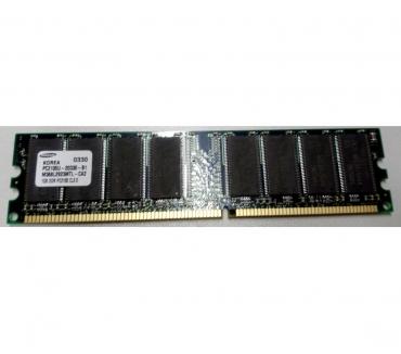 Photos Vivastreet Barrette RAM SAMSUNG 1GB DDR PC2100 CL2.0 PC2100U-20330-B1