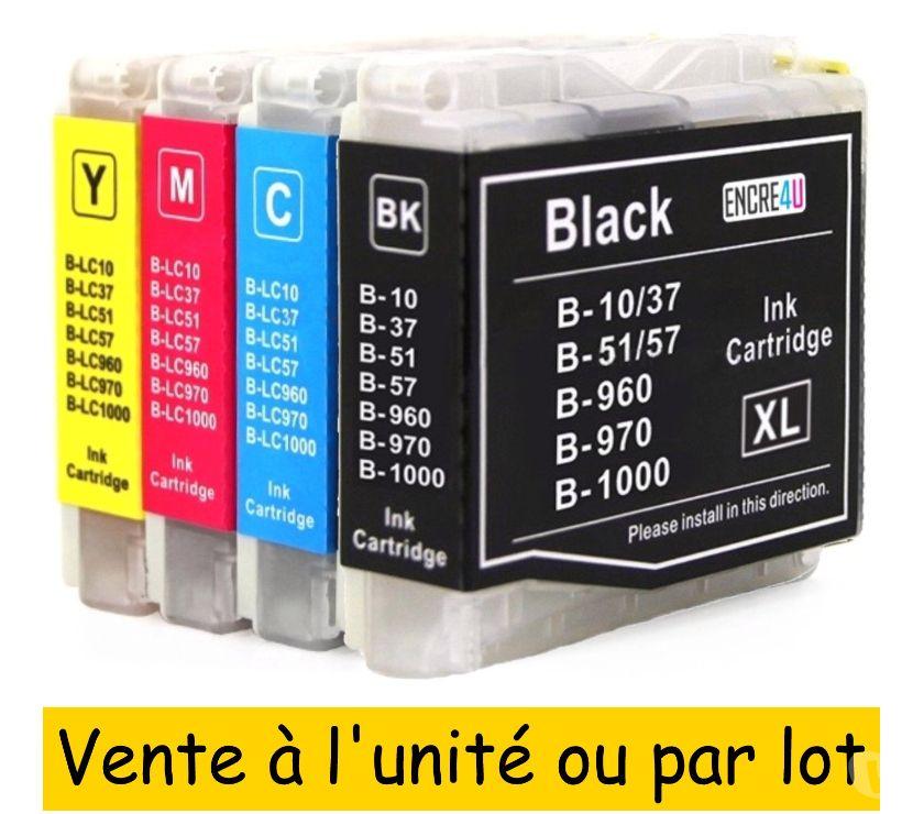 Photos Vivastreet Cartouches d'encre compatibles BROTHER LC1000 XL PREMIUM