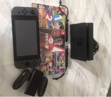 Photos Vivastreet Vend nintendo switch + jeux