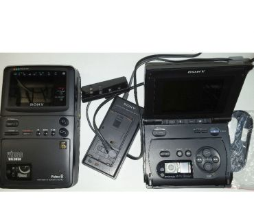 Photos Vivastreet 2 SONY Vidéo walkman GV-S50E + GV-8E PAL avec transfo