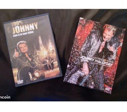 Photos Vivastreet URGENT 2 DVD Johnny Hallyday 40€ l'un ou les 2 pour 70€