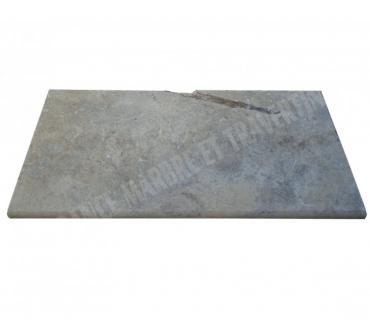 Photos Vivastreet Travertin Silver Nez de Marche 30x60 5 cm Ogee EN STOCK