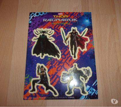 Photos Vivastreet 4 stickers Thor Ragnarok (Neufs)