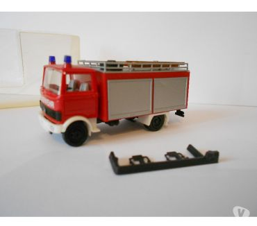 Photos Vivastreet HO 187 HERPA MB FOURGON POMPE SAPEURS POMPIERS NEUF