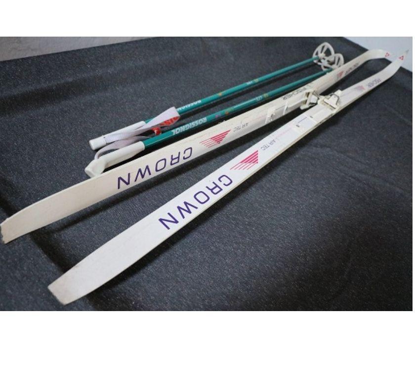 Photos Vivastreet paire skis fond 2m FISCHER +battons1.25m