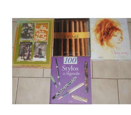 Photos Vivastreet livres cigare guerre farmer stylos