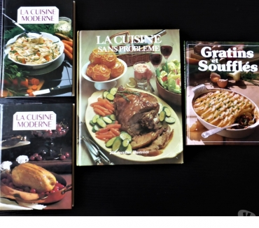 Photos Vivastreet 1 lot de 4 livres de cuisine neufs