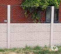 Photos Vivastreet Dalles de cloture strucurées en surplus. Fin de chantier.