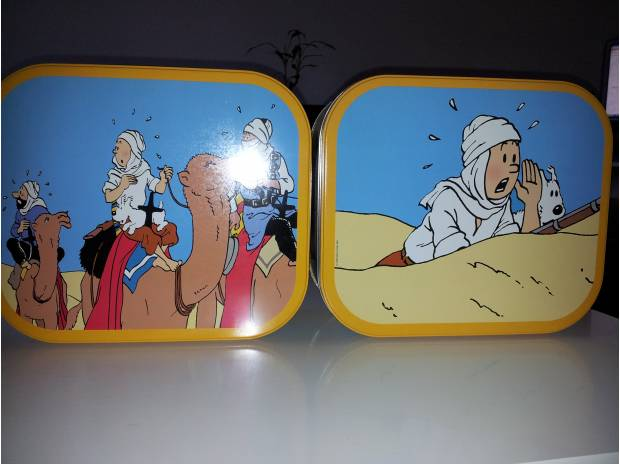 Collection Gironde Bordeaux - Photos Vivastreet Boites en métal Tintin