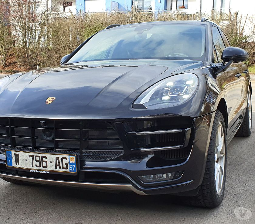 Voiture d'occasion Moselle Thionville - Photos Vivastreet Porsche Macan Turbo 3.6 V6 440 ch Pack Performance PDK