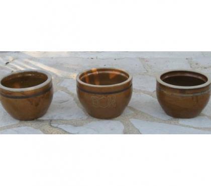 Photos Vivastreet 3 pots à tripes anciens en grès vernissé