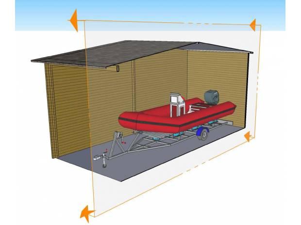 Abri garage pour camping car ou bateau nice 06000 - Abri pour bateau ...