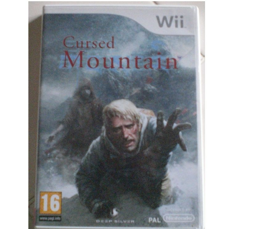 "Photos Vivastreet ""Jeu de WII ""Cursed Mountain"" (go78)"""