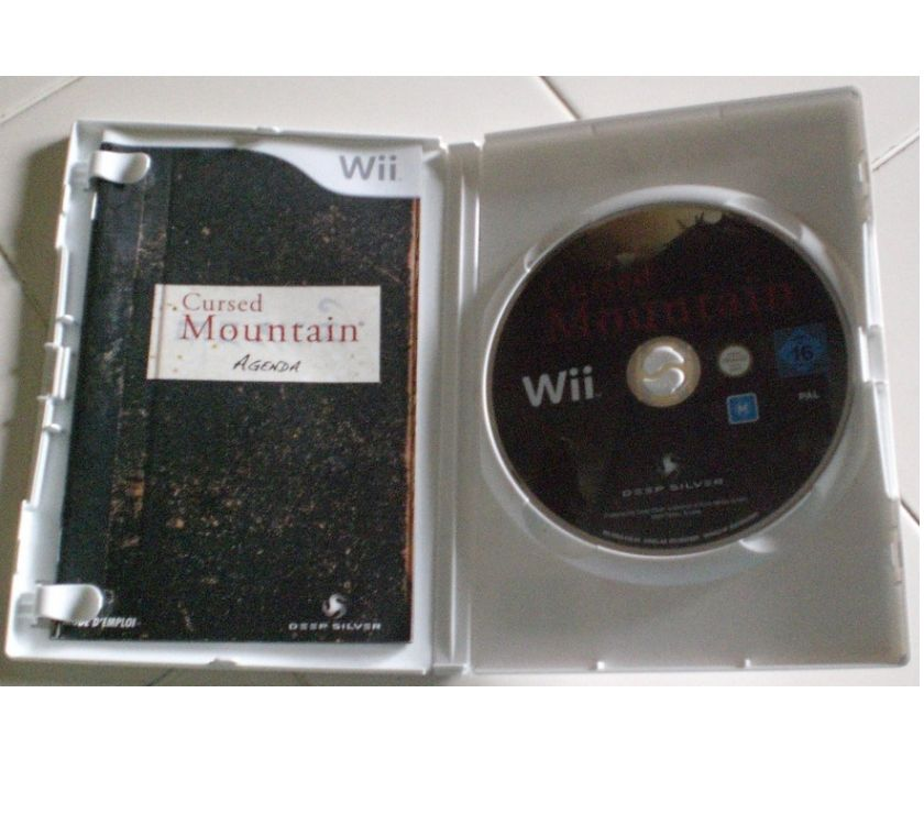 "Photos Vivastreet ""Jeu de WII ""Cursed Mountain"" (go78)"""