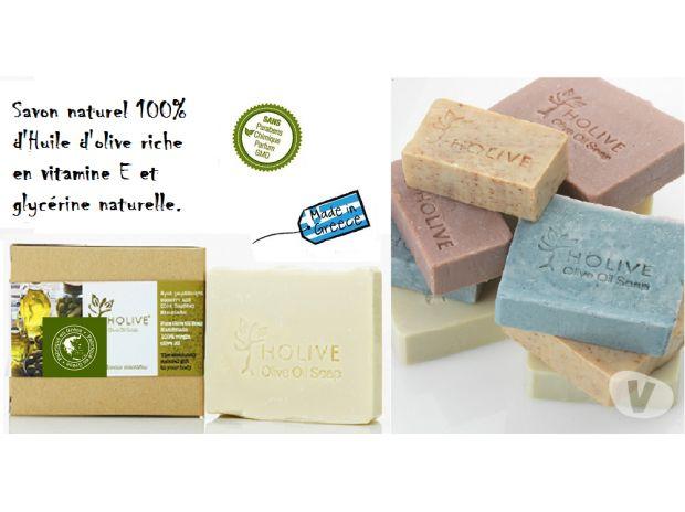 Photos Vivastreet Savon naturel 100% H.Olive - Extra vierge Nature - 120 gr
