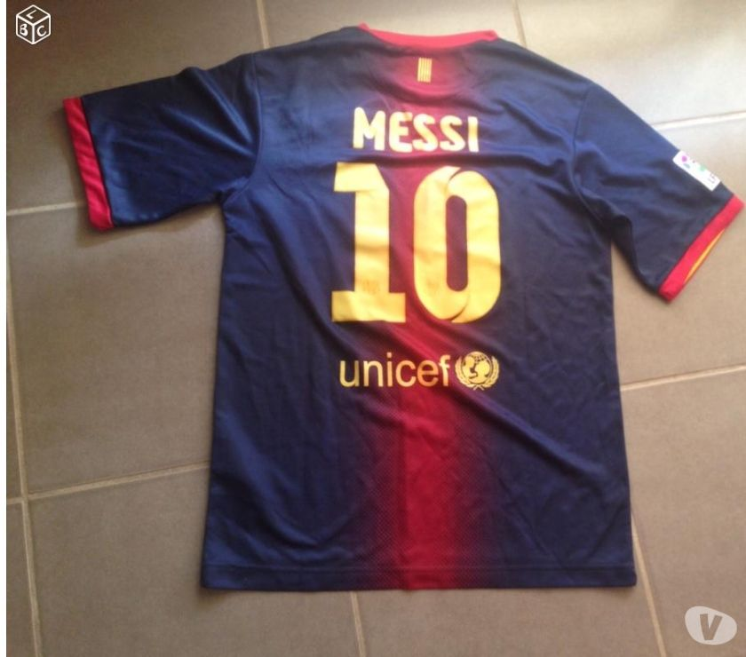 Photos Vivastreet Maillot Barça FC Barcelone Messi