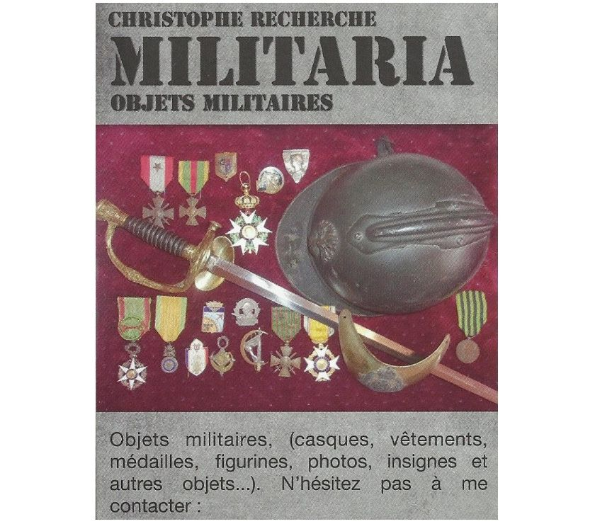 Photos Vivastreet demande medailles militaires, insignes, casques ........