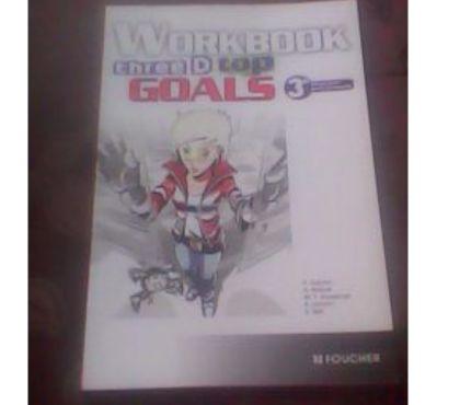 Photos Vivastreet Livre anglais Workbook Three D Top Goals