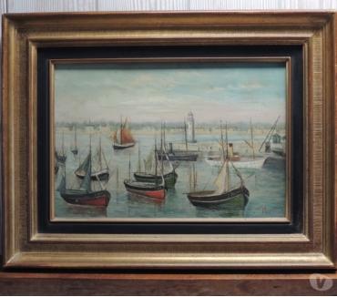 Photos Vivastreet Tableau, Peinture sur bois signée Ribbert
