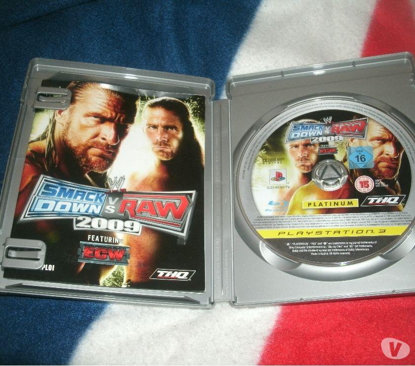 Photos Vivastreet ps3 smack down vs raw 2009