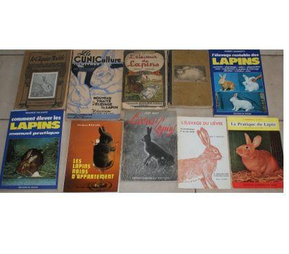 Photos Vivastreet lot de 10 livres récents et anciens sur lièvres et lapins 69