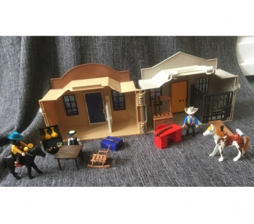 Photos Vivastreet Playmobile banque sheriff