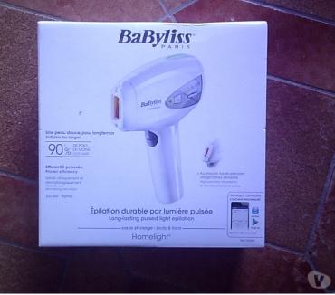 Photos Vivastreet Epilateur laser durable Babyliss Homelight pulsée