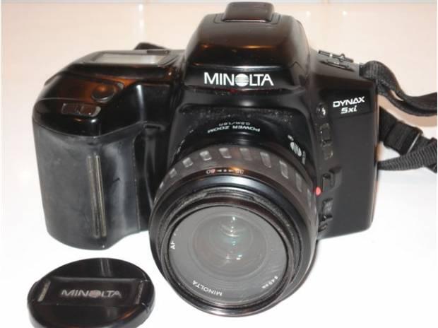 minolta dynax 5xi boitier appareil photo argentique fontenay le fleury 78330 mat riel photo. Black Bedroom Furniture Sets. Home Design Ideas