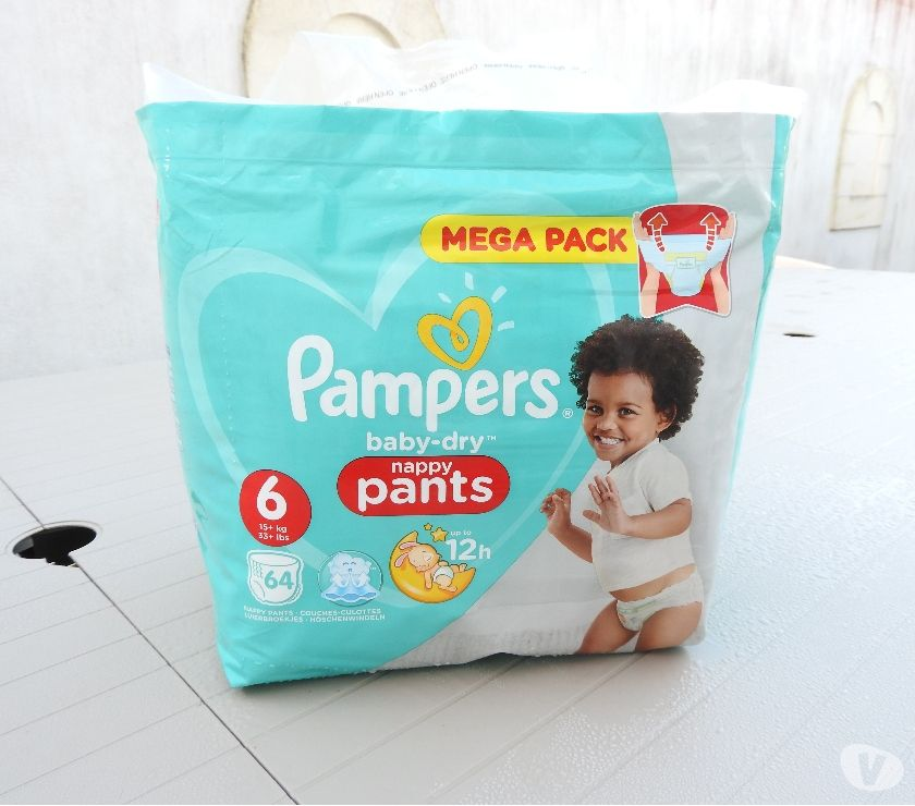 Photos Vivastreet Couches pampers baby dry pants taille 6