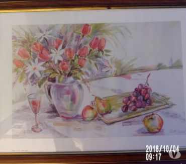 Photos Vivastreet REPRODUCTION AQUARELLE d'une nature morte