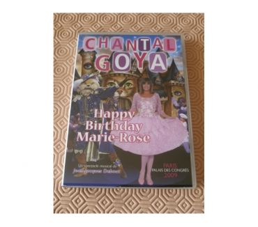 Photos Vivastreet DVD Chantal Goya Marie Rose Happy Birthday manga disney japo