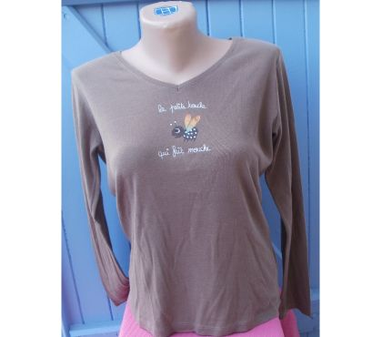 Photos Vivastreet T Shirt manches longues Taille 3 CACHE CACHE