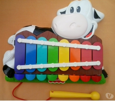 Photos Vivastreet xylophone vache Fisher Price