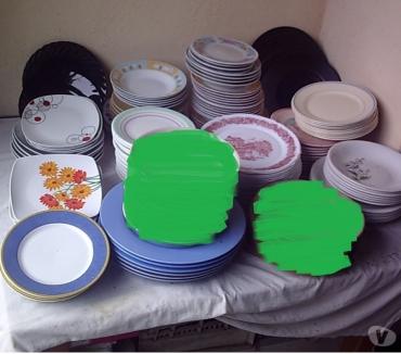 Photos Vivastreet Lots Assiettes à Dessert, Plates et à Soupe