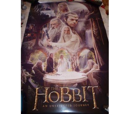 Photos Vivastreet Poster Hobbit seigneur anneaux film ciné TV elfe sorcier