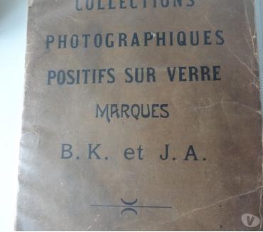 Photos Vivastreet COLLECTIONS PHOTOGRAPHIQUES POSITIFS SUR VERRE B.K & J.A