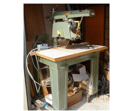 Photos Vivastreet Scie radiale Dewalt 1420, triphasé avec disjoncteur. Avec 3