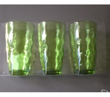 Photos Vivastreet Lot de 3 verres 50 cl vert