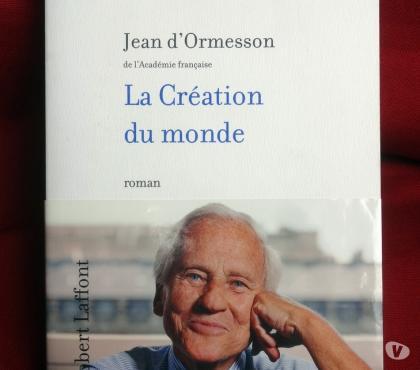 Photos Vivastreet La Création du monde - Jean d'Ormesson