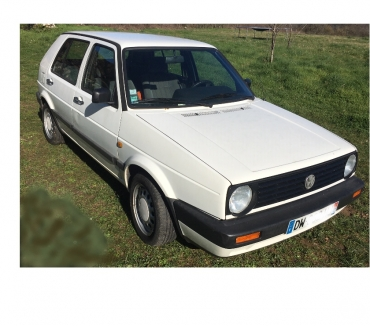 Photos Vivastreet VW GOLF 2 BOSTON ESSENCE, BLANCHE, 1992 260k km